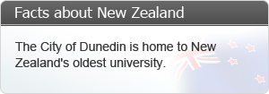 The city of dunedin is home to New Zealand's oldest university.