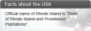 Official name of Rhode Island is 'State of Rhode Island and Providence Plantations'.
